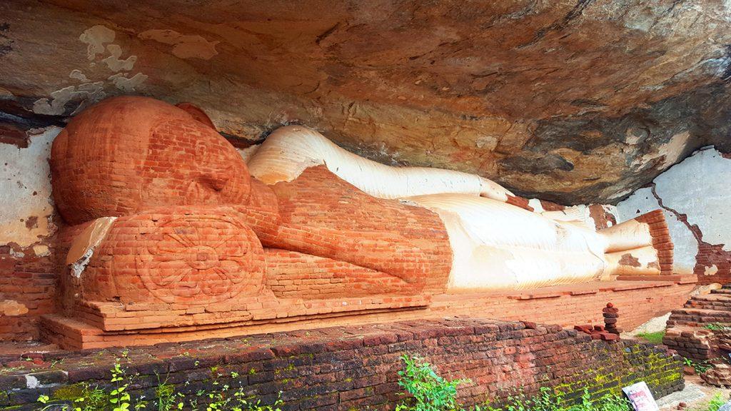 Pidurangala bouddha