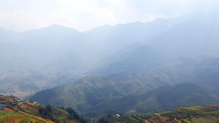 sapa stunning view moutain